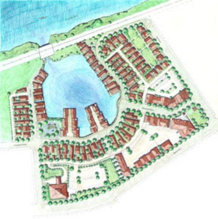 Illustrative Plan of Mill Pond Village-6x6