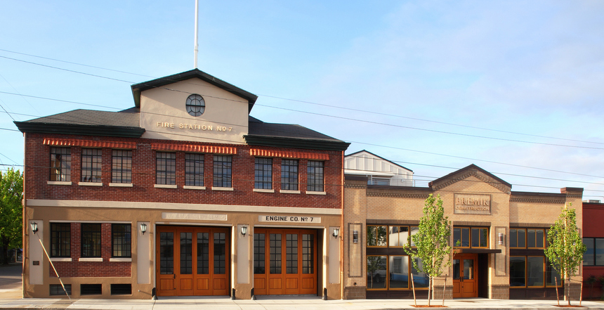 Close in SE Portland Fire Station renovated