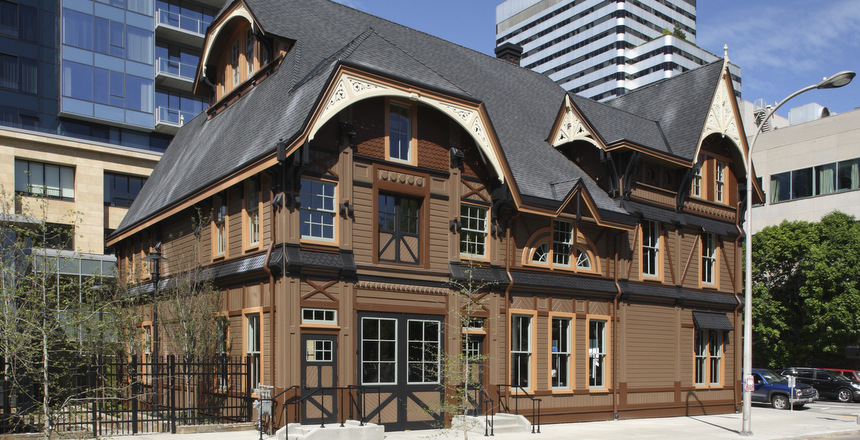 Ladd Carriage House in Downtown Portland