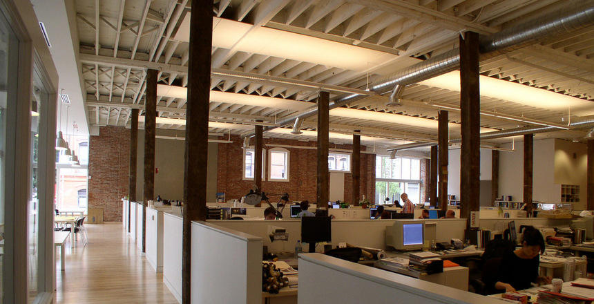 Architects at work at Minnesota Hotel