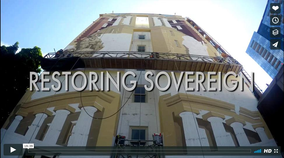 Venerable was involved in the renovation of the Sovereign Building in Portland.